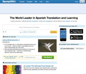spanishdict, spanish dictionary, best online spanish dictionary