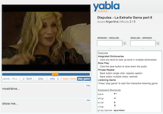 Yabla: A Spanish Video Site Specifically for Spanish Learners