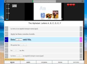 learn spanish alphabet telenovela method