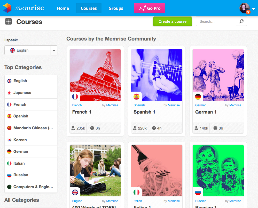 Learn Languages with Memrise – Apps on Google Play