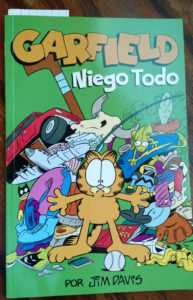 Learn Spanish from Garfield! Spanish Garfield Comics Now Available as E-book and Paperback