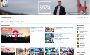 Learn Spanish on YouTube #3: Christian Corom